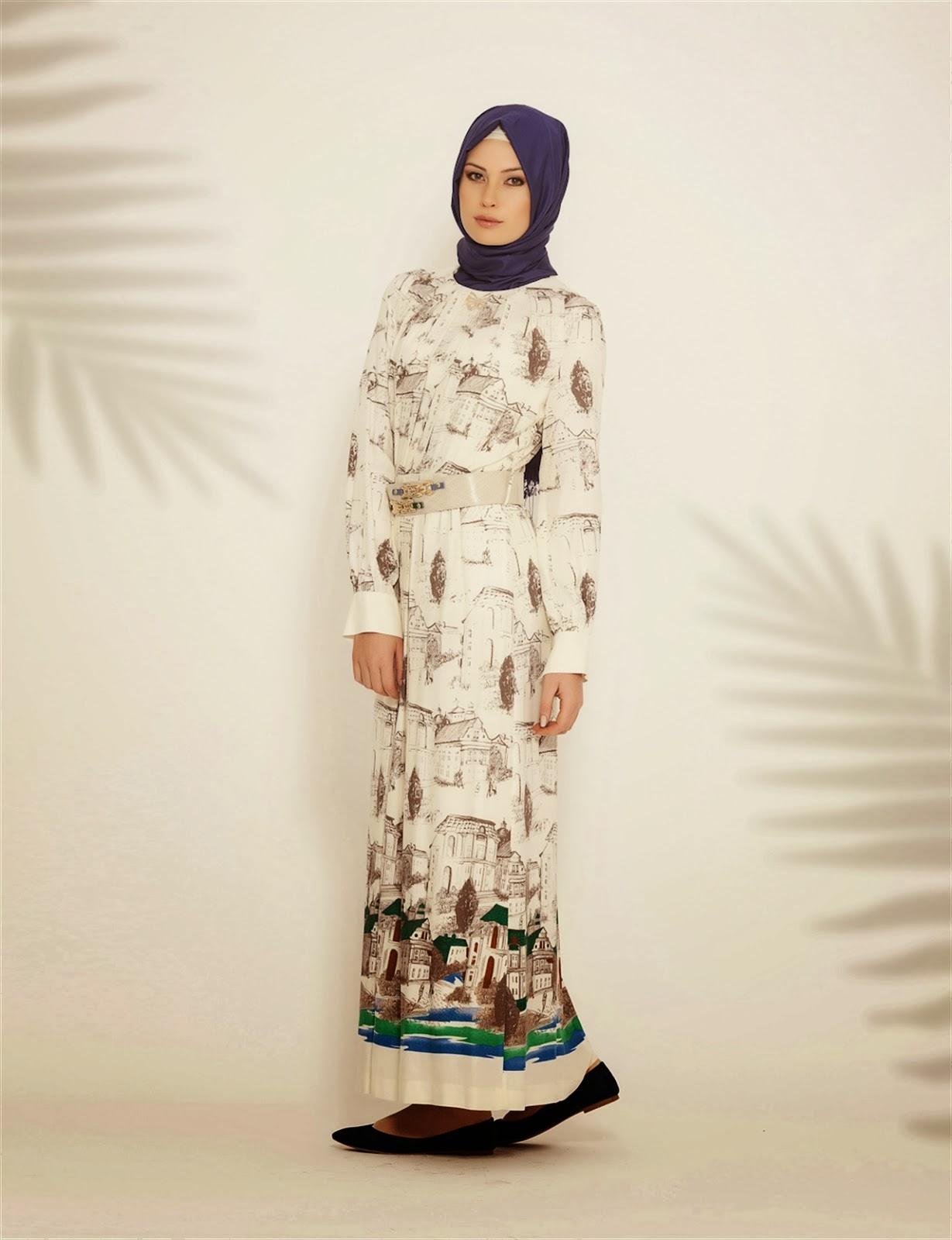 صوره ملابس محجبات مميزة 2018 ازياء للبنات المحجبات 2018