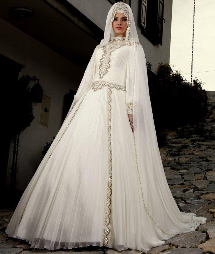 صور فساتين زفاف تركية 2019 , ابداع النساء التركيات باللباس