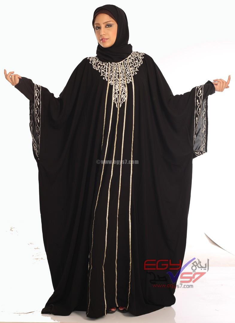 صوره عبايات سعودية 2018 احدث تصاميم لعبايات سعودية 2018