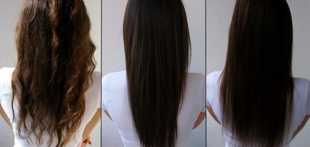 بالصور احسن فرد للشعر الخشن أضرار فرد الشعر بالبروتين