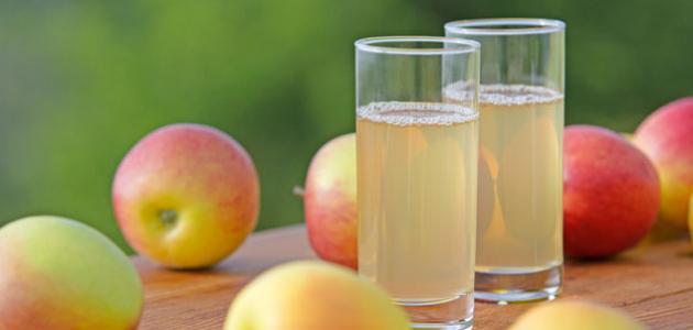 صور طريقة عصير تفاح لذيذ