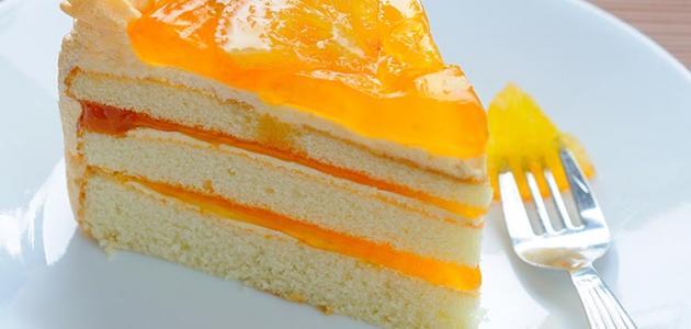 بالصور تحضير كيكة البرتقال بالصور طريقة عمل كيكة البرتقال 14