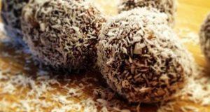 صوره حلويات جوز الهند بدون طهي