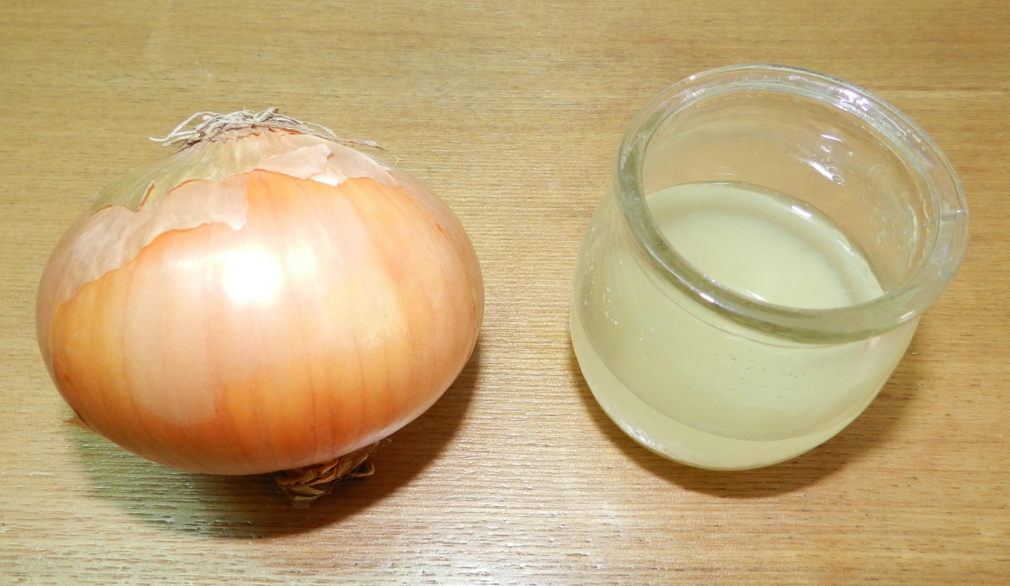 صوره هل عصير البصل مفيد للشعر