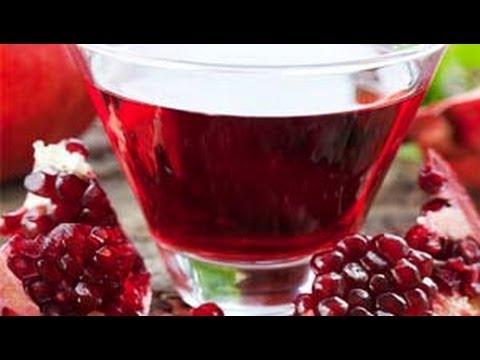 صوره طريقة عمل عصير الرمان المجمد
