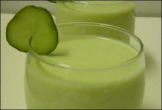 صورة عصير الافوكادو بدون حليب