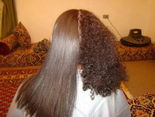 صور اريد خلطة لتنعيم الشعر