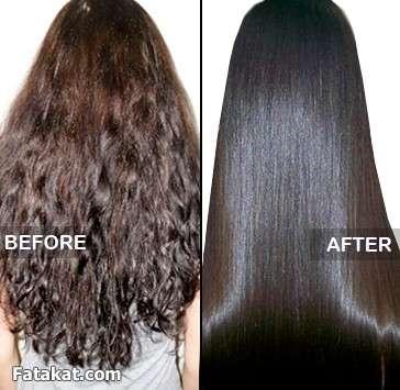 صوره طريقة لجعل الشعر ناعم بدون استشوار