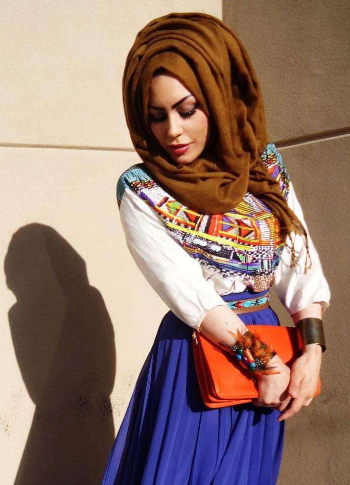 بالصور موديلات حجابات 2019 بانماط عصرية 20160614 104