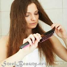 صوره علاج الشعر التالف والجاف والمتقصف