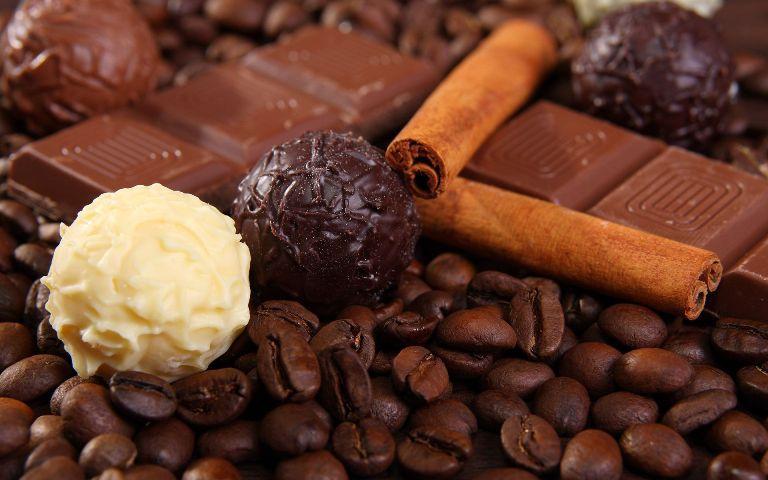 كيفية عمل كرات قهوة الشوكولا