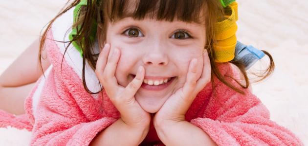 صوره افضل زيت للاطفال لتكثيف الشعر