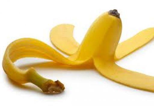 خلطه قشور الموز مع الزيوت