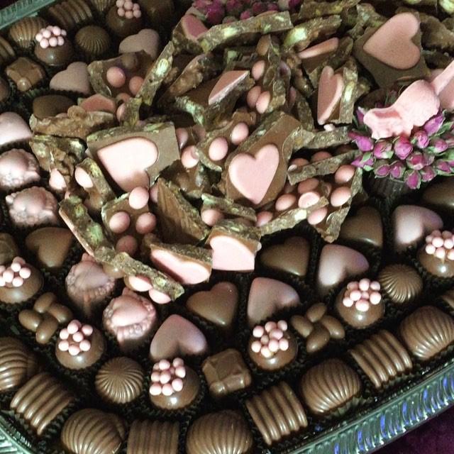 صوره طريقة حلى قنابل الشوكولاته