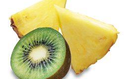 صوره رجيم الاناناس والكيوي والليمون