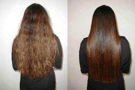 صوره كيف اخلي شعري ناعم بدون استشوار