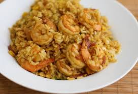 صوره طريقة عمل ارز بالجمبري