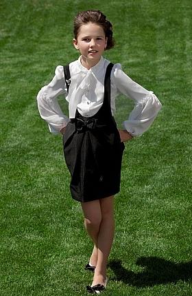 صورة اجمل ملابس مدرسه جديدة