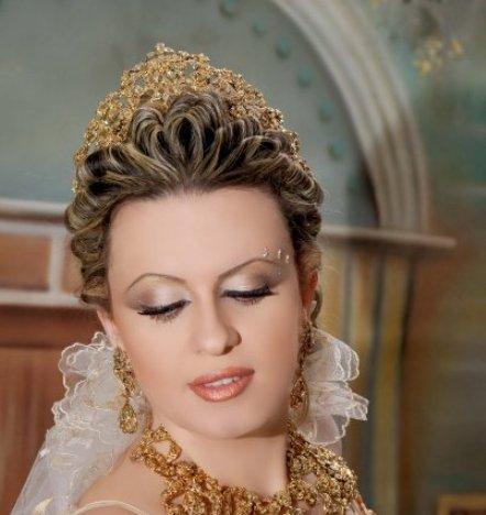 بالصور احدث تسريحات مغربية للعرائس 20160616 1537
