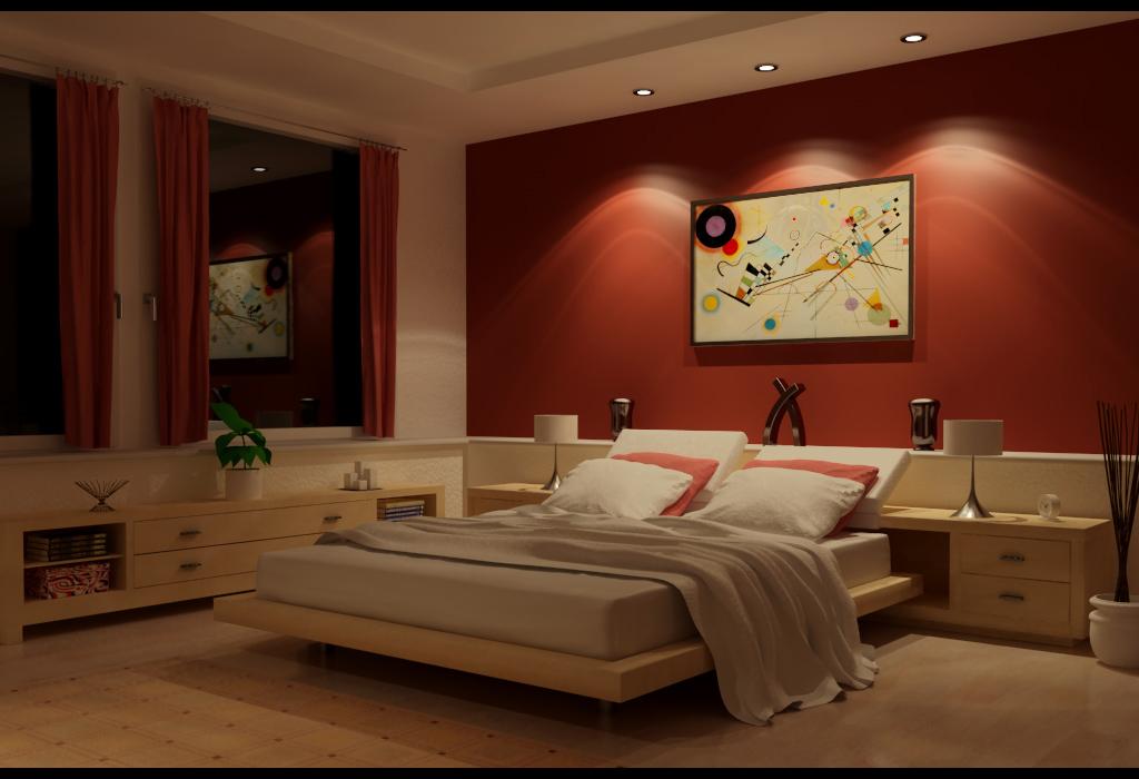 صوره الوان غرف النوم للعرسان