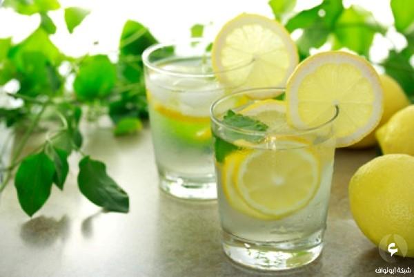 بالصور شرب الماء مع الليمون 20160619 310
