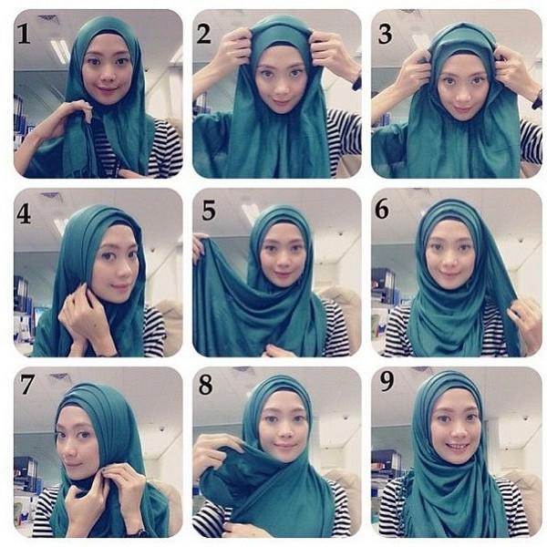 صوره كيفية وضع الحجاب بطريقة عصرية