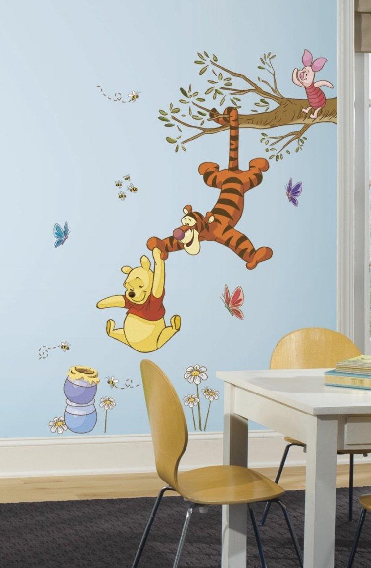بالصور رسومات جدران غرف اطفال