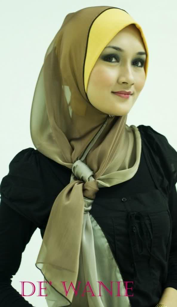 صوره حجاب اخر موضة احدث صيحات الموضه في ربطات الحجاب