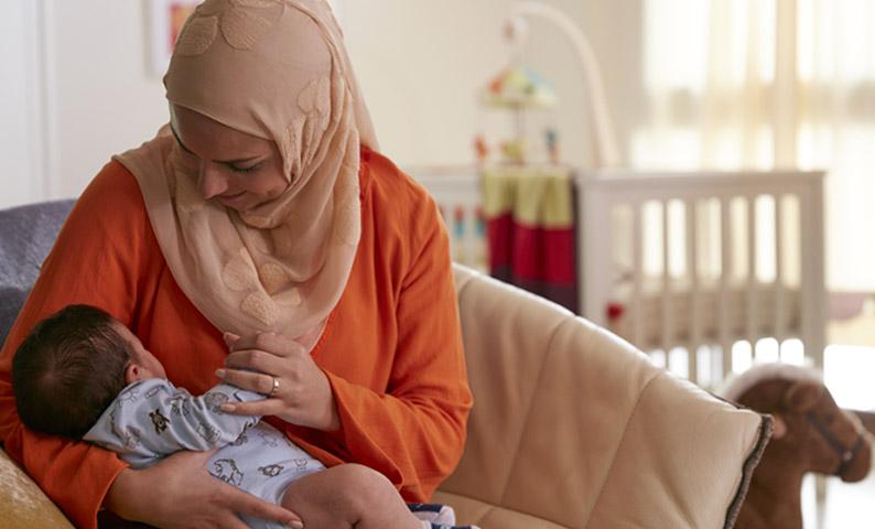 صوره ارجاع الحليب عند الرضع