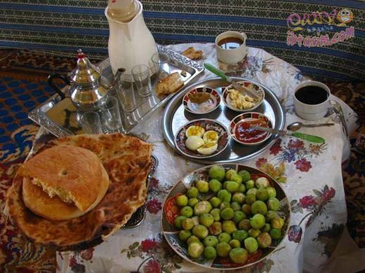 صورة مكونات الفطور الصباحي في المغرب 20160621 52