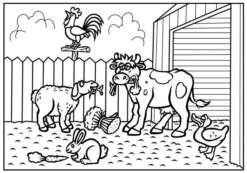 بالصور رسومات اطفال للتلوين حيوانات 20160622 48