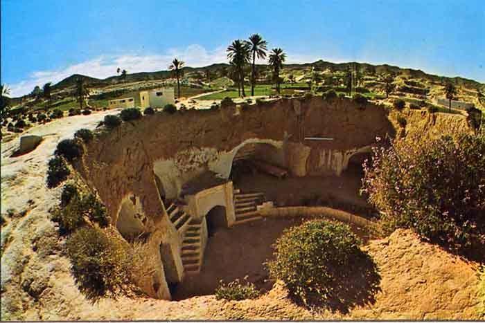 صوره اكتشاف مدينة الجن بتركيا  13 طابقا تحت الارض