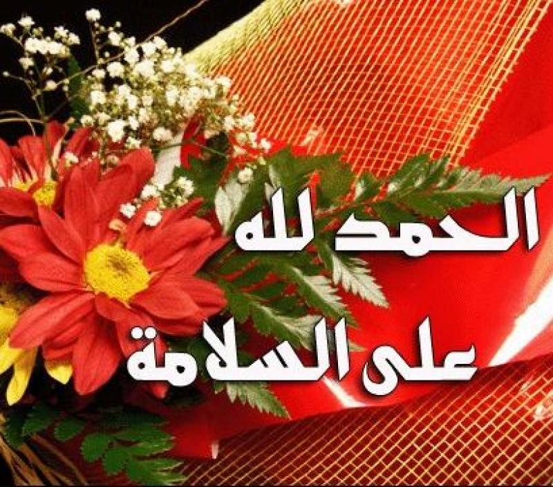 بالصور صور الحمد لله ع السلامه2019
