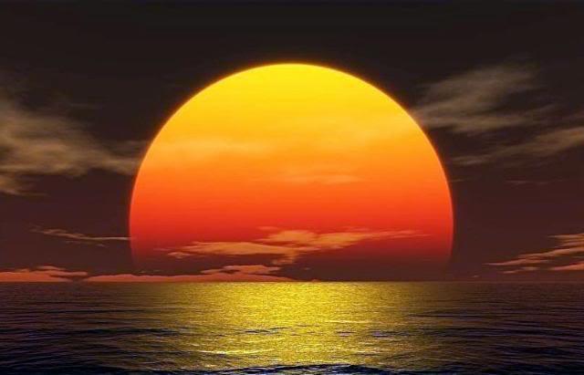 صوره اروع الصور لغروب الشمس على الاطلاق