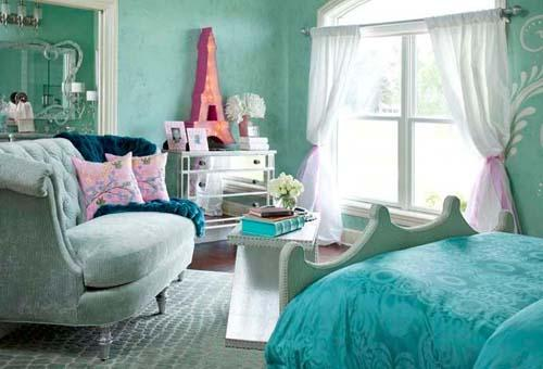 اجمل أصباغ و  ألوان غرف نوم مودرن بالصور