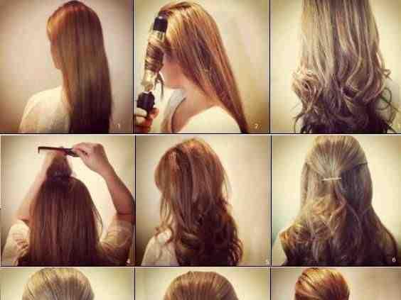 بالصور طرق تزيين الشعر الطويل 20160623 455