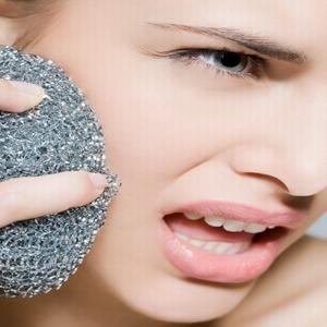 صورة طريقة تقشير الجلد الغامق , القضاء على الاجزاء الغامقة في الجسم وتقشير البشرة