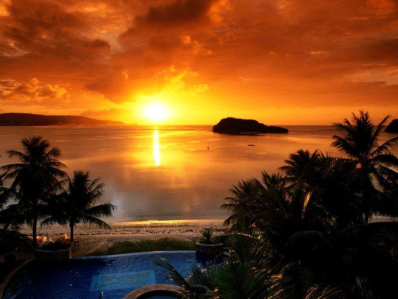 بالصور اروع الصور لغروب الشمس على الاطلاق