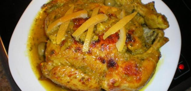 طريقَة تحضير اكلات مغربية بالدجاج