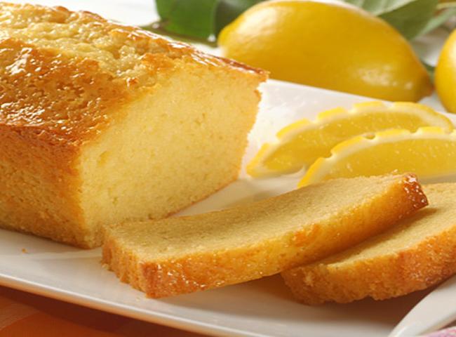 صوره كيك الليمون بدون بيض سهله ولذيذه وهشه