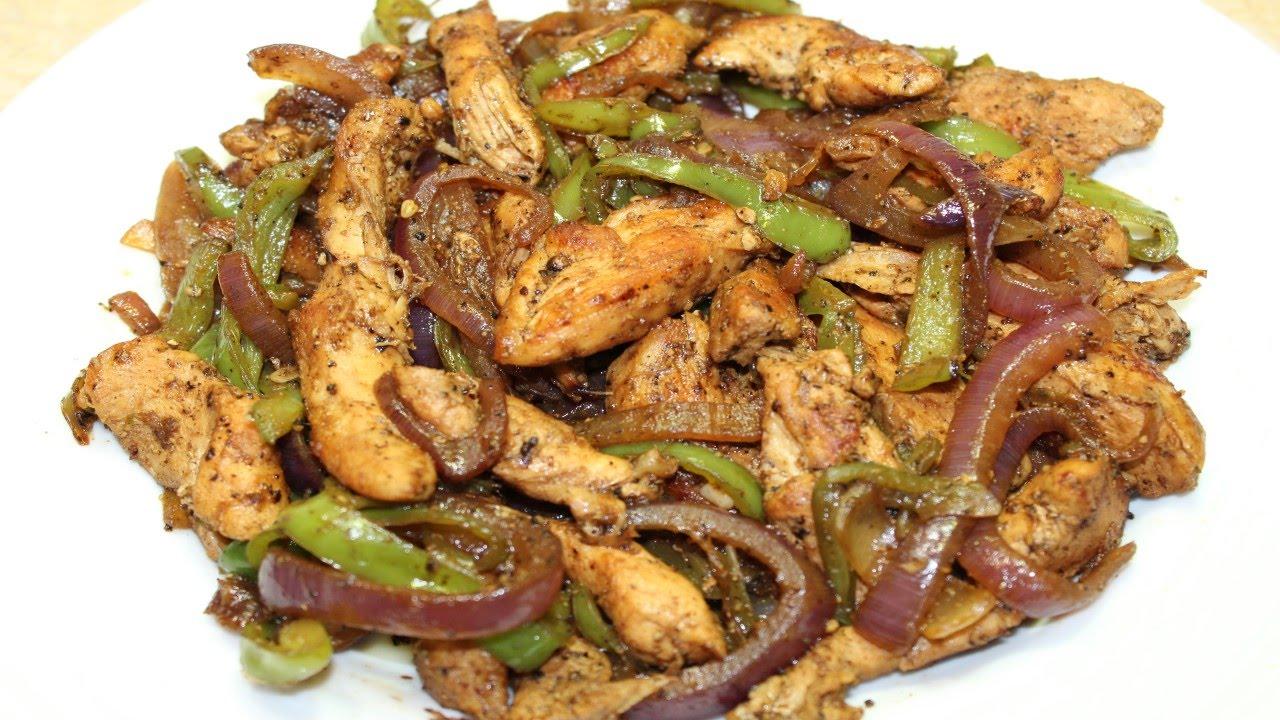 صوره طريقة عمل البصل الفلفل الدجاج