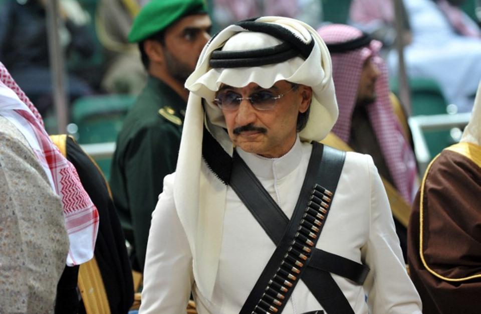 صوره سبق الوليد بن طلال اخر الاخبار