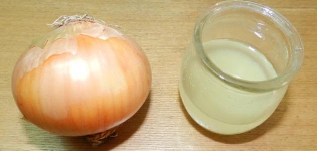 كيف اعمل عصير البصل