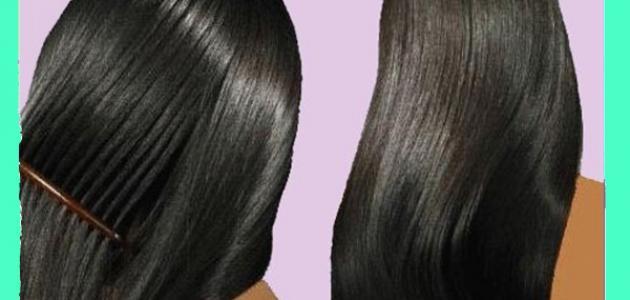 كيف اجعل شعري ناعما بدون خلطات