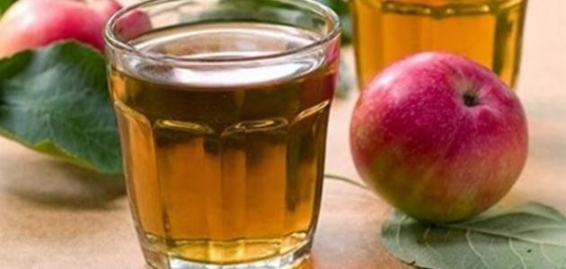 كيف أعمل عصير تفاح