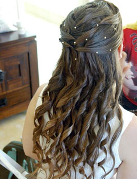 صوره تسريحات الشعر الطويل للبنات