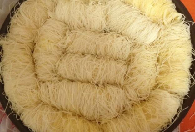 صور طريقة عجينة الكنافة