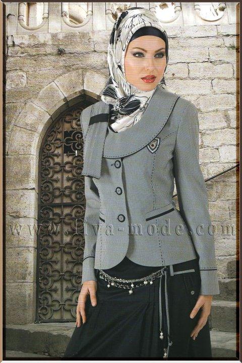 صورة اجمل الازياء التركية للمحجبات