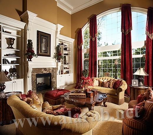 صوره تصميم ديكور رائع لجميع غرف المنزل