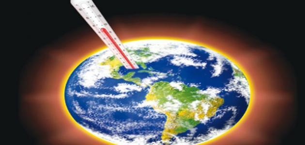 صوره بحث عن الاحتباس الحراري